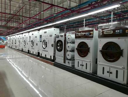 世界最大的智能洗衣中央工厂