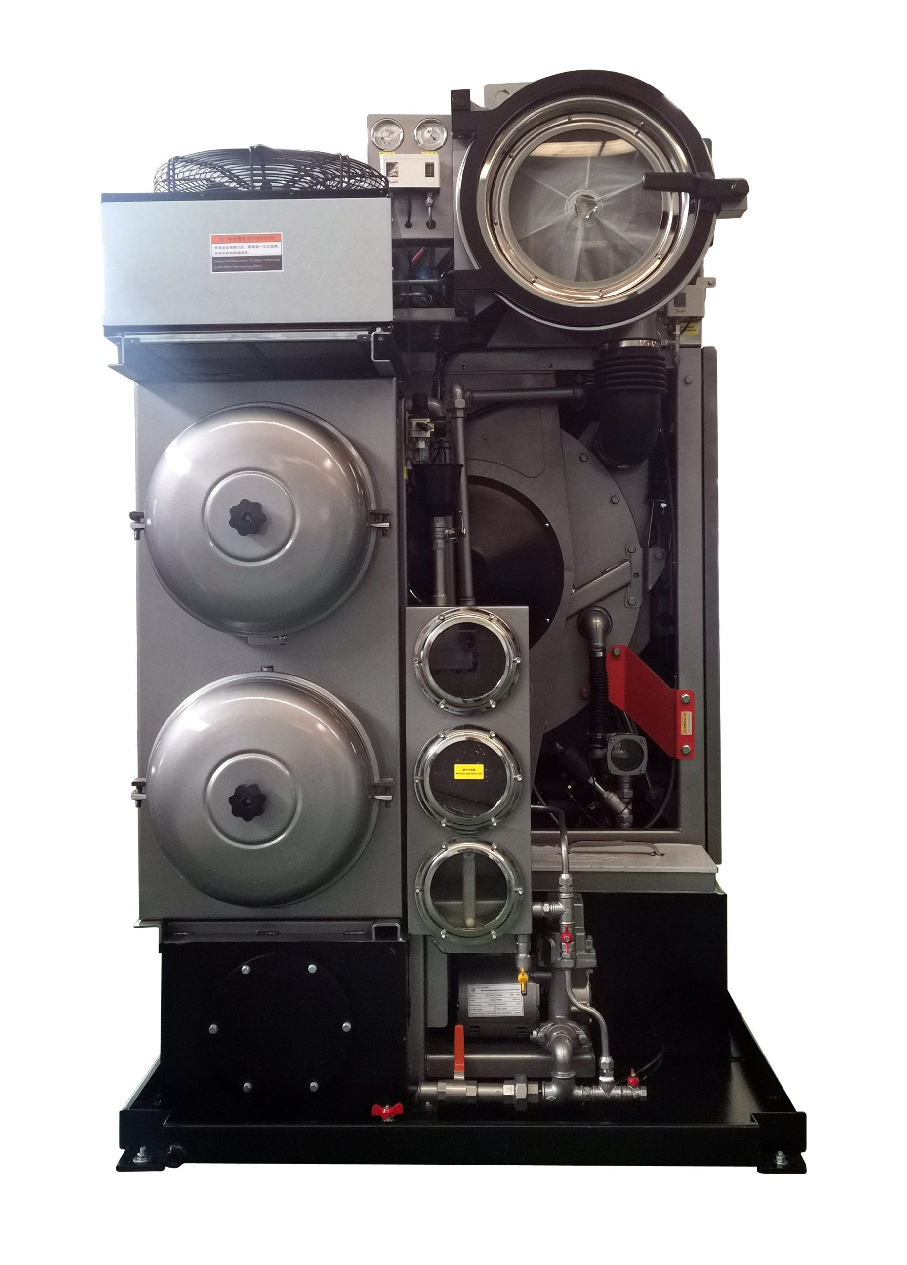 HSE系列高速全封闭多溶剂干洗机